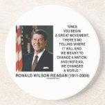 Ronald Reagan Great Movement Changed A World Coaster