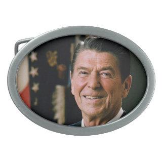 Ronald Reagan Hebilla De Cinturón Oval