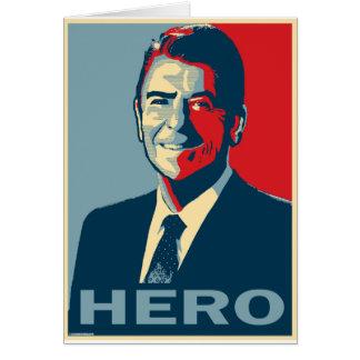 Ronald Reagan: HERO Card