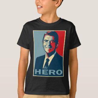 Ronald Reagan: HÉROE Playera