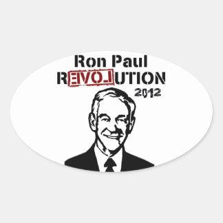 : ronald, reagan, homeboy, tea, party, republican, oval sticker