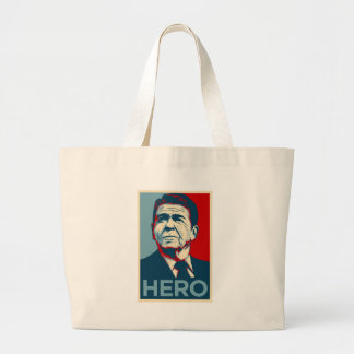 Ronald Reagan Hope Hero Poster - Reagan Bush 84 Bag