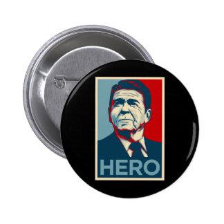 Ronald Reagan Hope Hero Poster - Reagan Bush 84 Pins