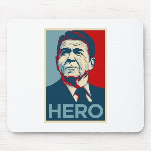 Ronald Reagan Hope Hero Poster - Reagan Bush 84 Mouse Mat