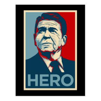 Ronald Reagan Hope Hero Poster - Reagan Bush 84 Post Cards