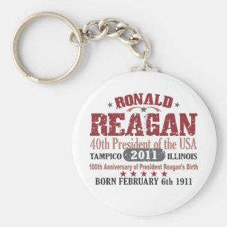 Ronald Reagan Keychain