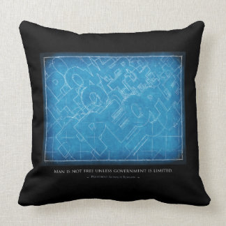 Ronald Reagan Limited Government Pillows