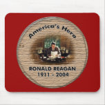 Ronald Reagan Memorial Mouse Pad