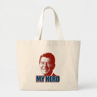 Ronald Reagan My Hero Canvas Bag