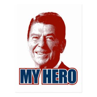 Ronald Reagan My Hero Postcard