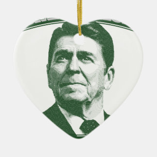 Ronald Reagan One Nation Under God Ceramic Ornament