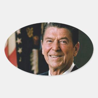 Ronald Reagan Oval Sticker