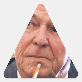 Ronald Reagan Calcomania De Triangulo Personalizadas