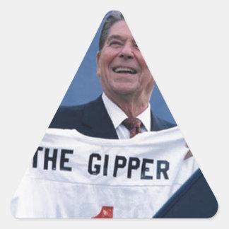 Ronald Reagan Pegatinas Trianguladas Personalizadas
