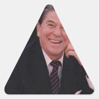Ronald Reagan Calcomanías Trianguloes