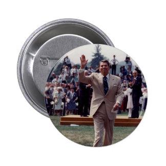 Ronald Reagan Pin Redondo 5 Cm