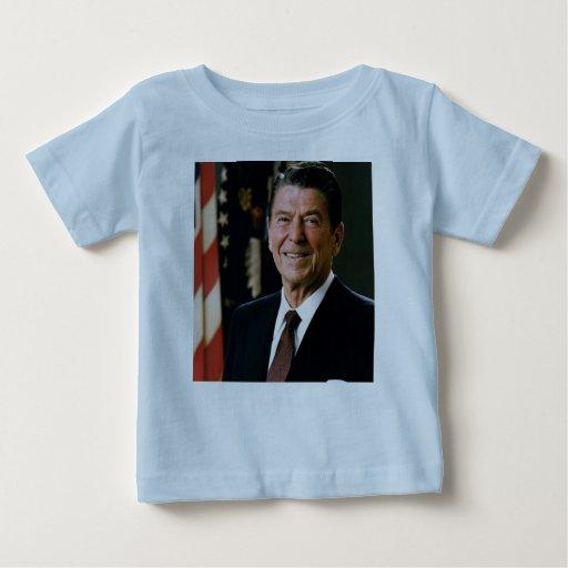Ronald Reagan Playera De Bebé