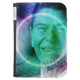 Ronald Reagan Pop Art Kindle 3 Cases