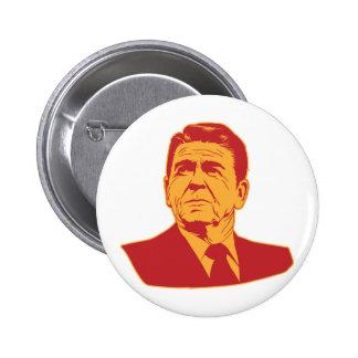 Ronald Reagan Portrait Button