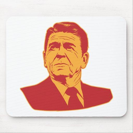 Ronald Reagan Portrait Mousepad