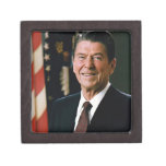Ronald Reagan Premium Trinket Box