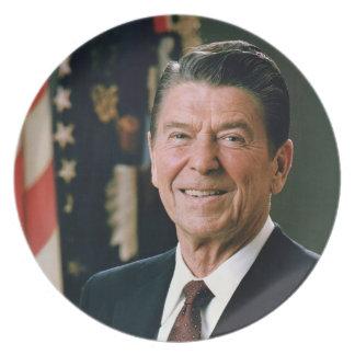 Ronald Reagan President 1981 Plate