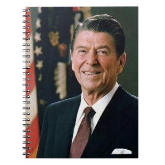 Ronald Reagan President 1981 Spiral Bound Notebook