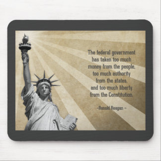 Ronald Reagan Quote Mouse Pad