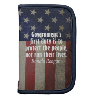 Ronald Reagan Quote on Duty of Government Planner