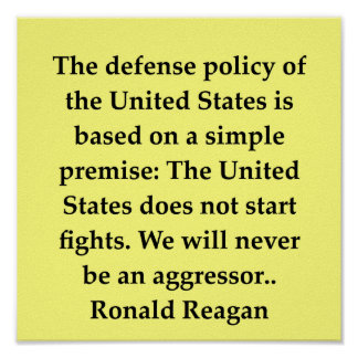 ronald reagan quote posters