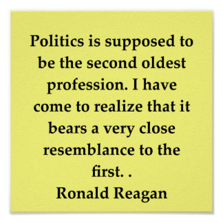 ronald reagan quote poster