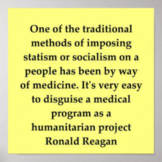 ronald reagan quote print