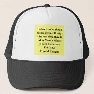 ronald reagan quote trucker hat