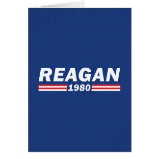 Ronald Reagan, Reagan 1980 Card