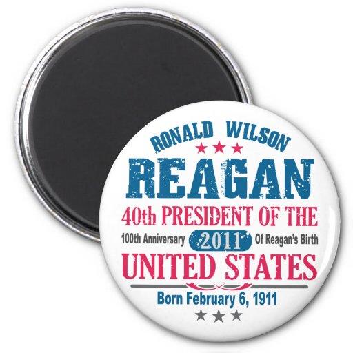 Ronald Reagan Refrigerator Magnets