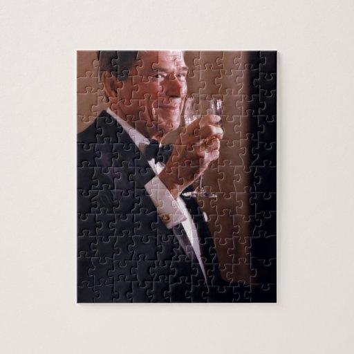 Ronald Reagan Rompecabezas Con Fotos