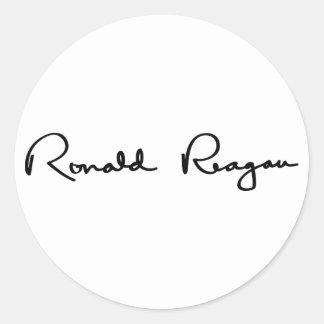 Ronald Reagan Signature Sticker