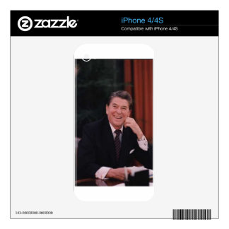 ronald reagan decals for iPhone 4S