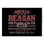 Ronald Reagan Tarjeta