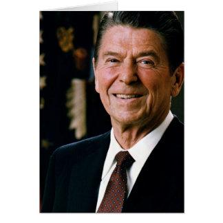 Ronald Reagan Tarjeta De Felicitación