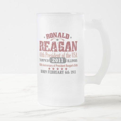 Ronald Reagan Tazas De Café
