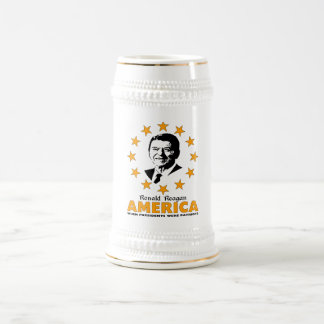 Ronald Reagan The Patriot Beer Stein