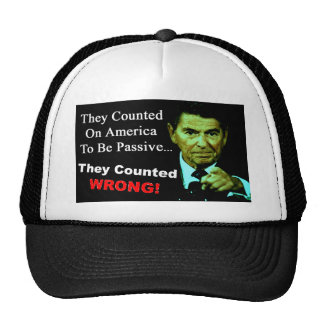 Ronald Reagan: They Counted Wrong! Trucker Hat