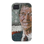 Ronald Reagan With Flag Case-Mate iPhone 4 Case