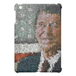 Ronald Reagan With Flag iPad Mini Covers