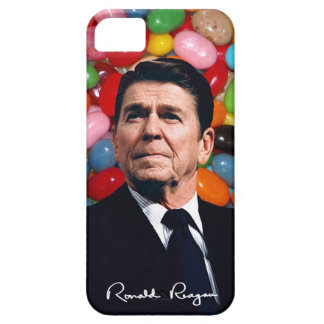 Ronald Reagan With Jelly Beans & Sig iPhone SE/5/5s Case