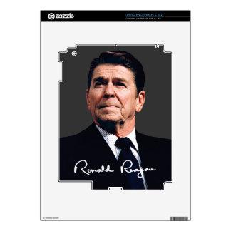 Ronald Reagan With Signature iPad 2 Decal