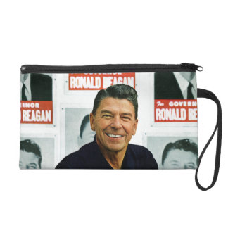 Ronald Reagan Wristlet Clutch
