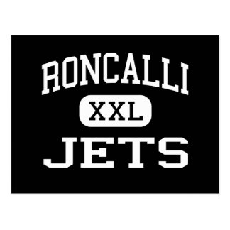 Roncalli - Jets - High - Manitowoc Wisconsin Postcard