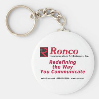 Ronco Communications Keychain